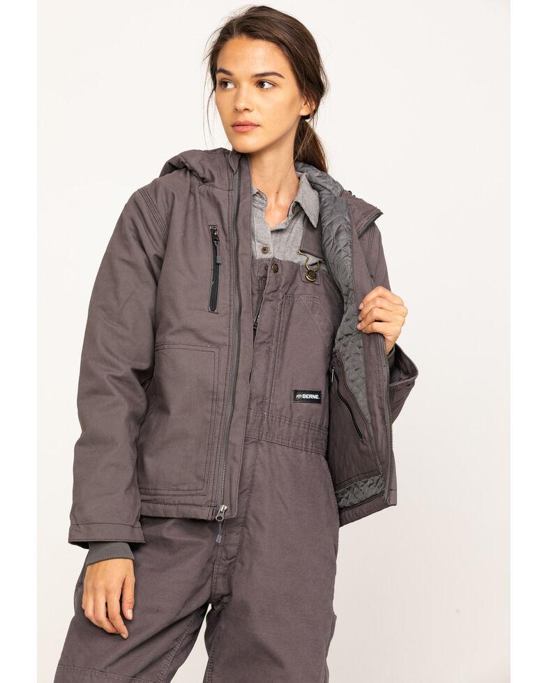 Berne Women's Titanium Softstone Modern Jacket, Grey, hi-res