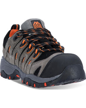 Dan Post Women's Composite Toe Hiking Shoes, Grey, hi-res