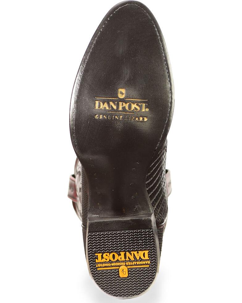 Dan Post Men's Raleigh Lizard Western Boots, Black Cherry, hi-res