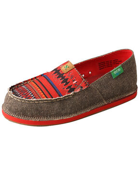 Twisted X Women's Casual Driving Loafers - Moc Toe, Multi, hi-res
