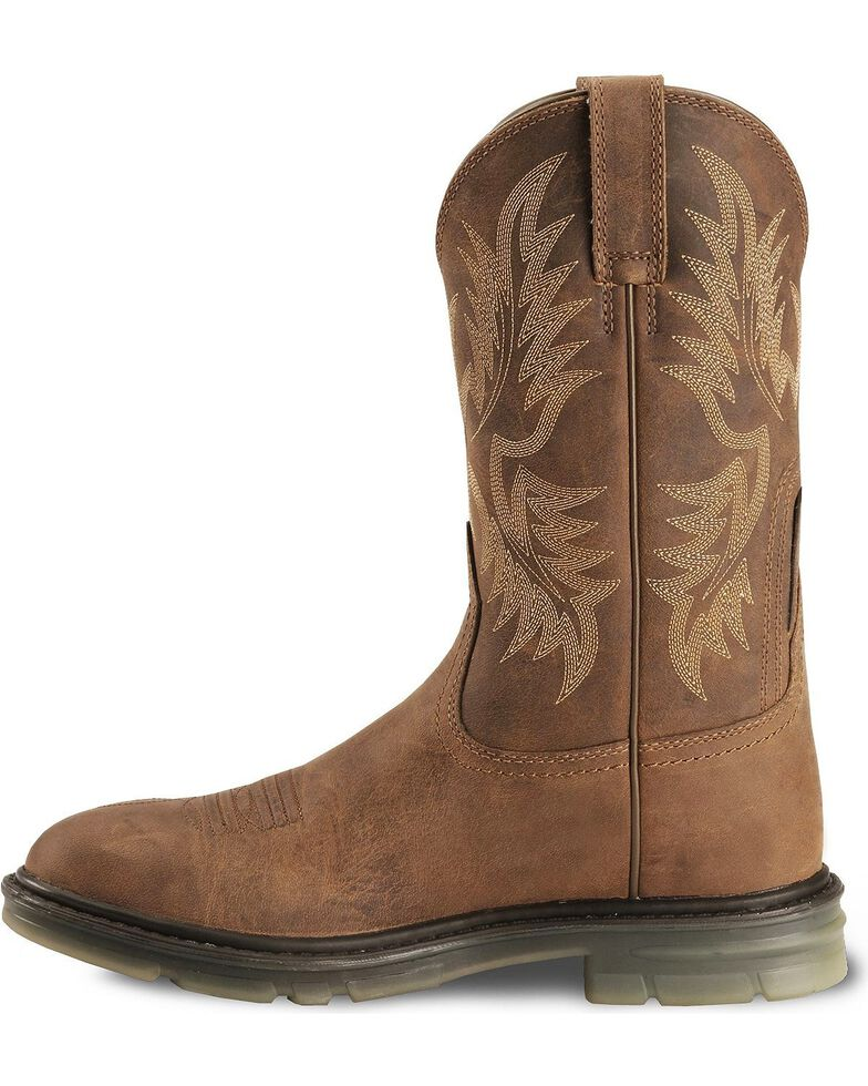 8e3887e28a1 Ariat Men's Maverick II Western Work Boots