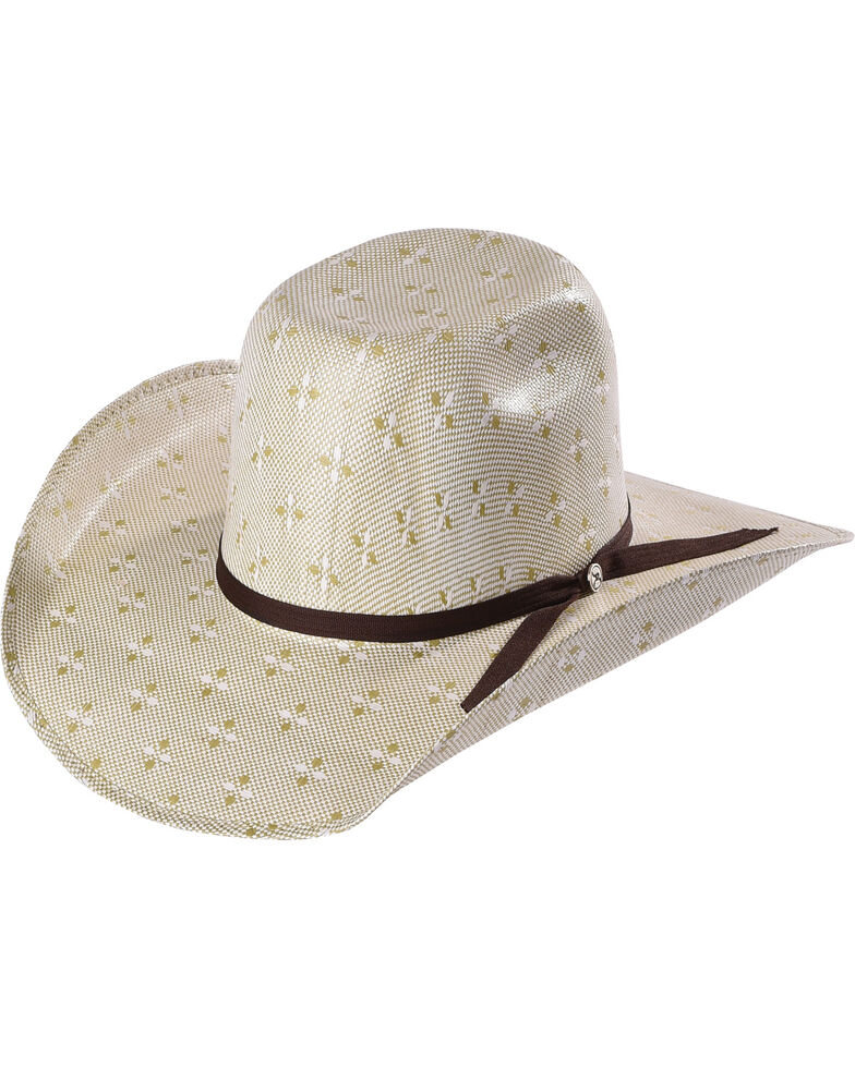 3f4bfb505 Hooey by Resistol Men's Natural Pecos Straw Cowboy Hat