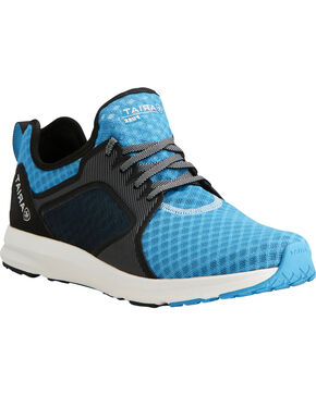 Ariat Men's Fuse Highlighter Blue Mesh Shoes, Blue, hi-res