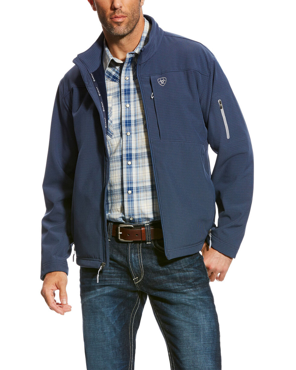 Ariat Men's Vernon 2.0 Softshell Jacket , Navy, hi-res