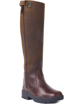 Ovation Women's Moorland Rider Boots, Brown, hi-res
