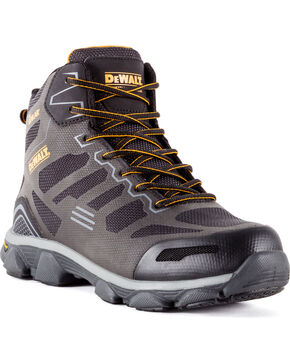 DeWalt Men's Crossfire Athletic Boots - Aluminum Toe, Dark Grey, hi-res