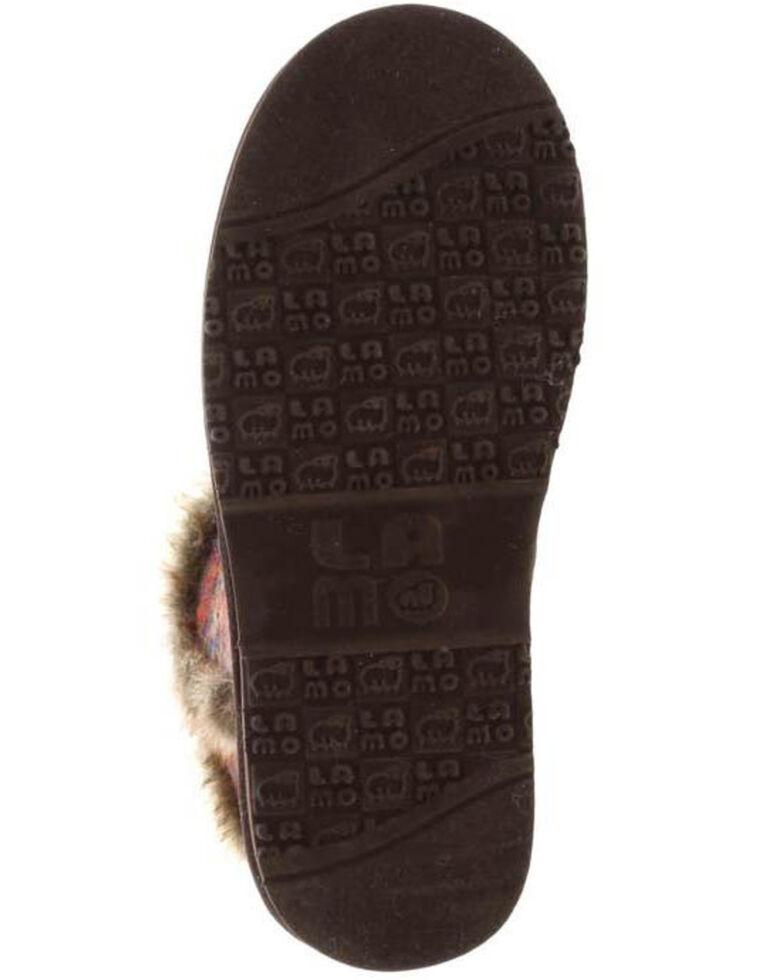 Lamo Footwear Women's Yuma Fleece Boots - Round Toe, Chocolate, hi-res