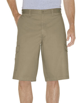 "Dickies 13"" Loose Fit Cargo Shorts, Khaki, hi-res"