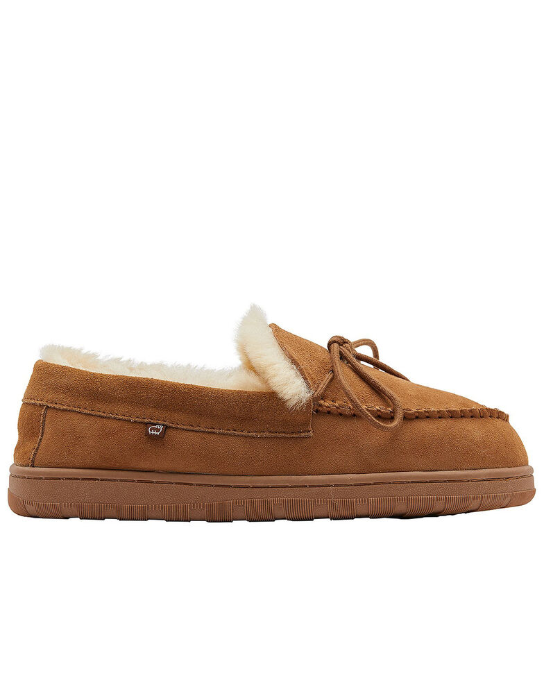 Lamo Footwear Men's Doubleface Sheepskin Slippers, Chestnut, hi-res