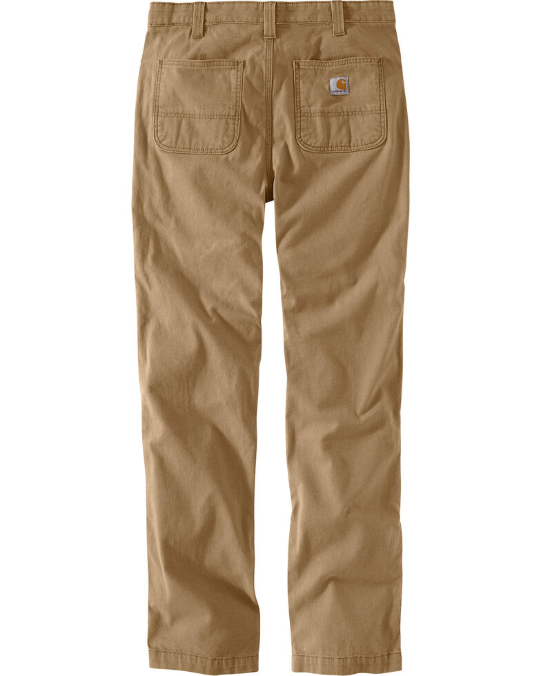37a55c09013 Zoomed Image Carhartt Men's Rugged Flex Rigby Straight-Fit Pants - Straight  Leg , Beige/khaki