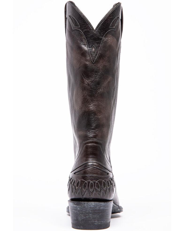 Moonshine Spirit Men's Lardin Western Boots - Snip Toe, Black, hi-res