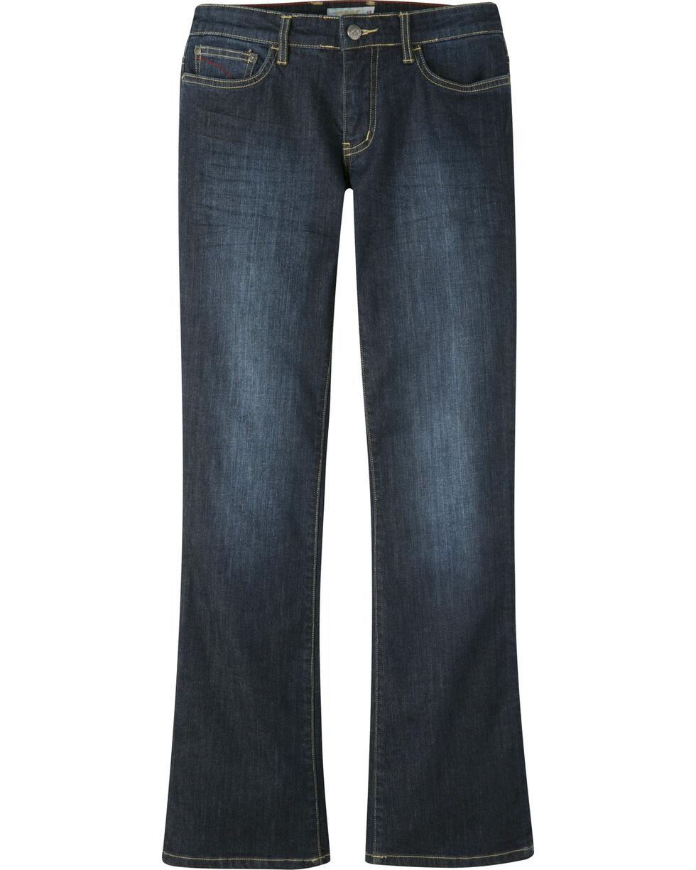 Mountain Khakis Women's Genevieve Boot cut Jeans - Petite, Indigo, hi-res