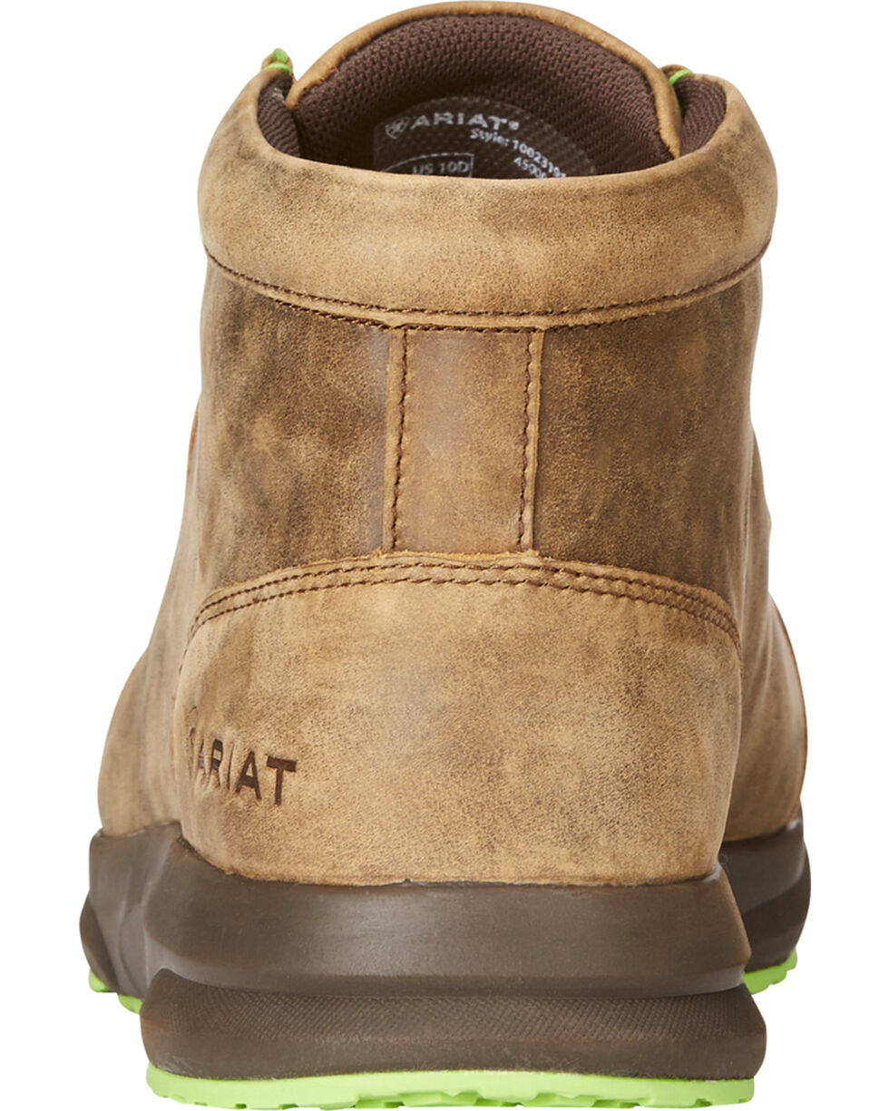 Ariat Men's Brown Spitfire Bomber Shoes , Brown, hi-res