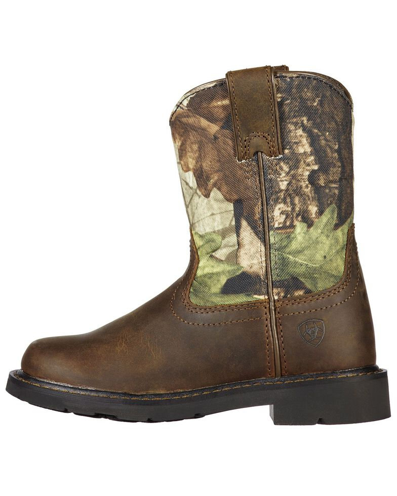 Ariat Boys' Sierra Distressed Cowboy Boots, , hi-res