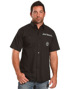 Jack Daniel's Men's Black Jack Daniel's Shop Shirt , Black, hi-res