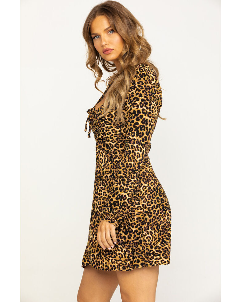 Idyllwind Women's Wild Side Dress, Leopard, hi-res