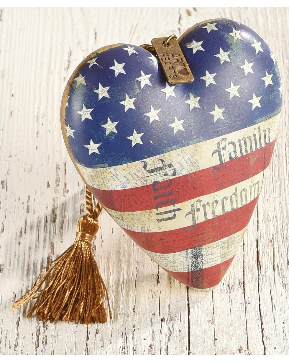 Demdaco Faith, Family, Freedom Art Heart , Multi, hi-res