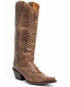 Idyllwind Women's Smok'n Western Boots - Snip Toe, Brown, hi-res