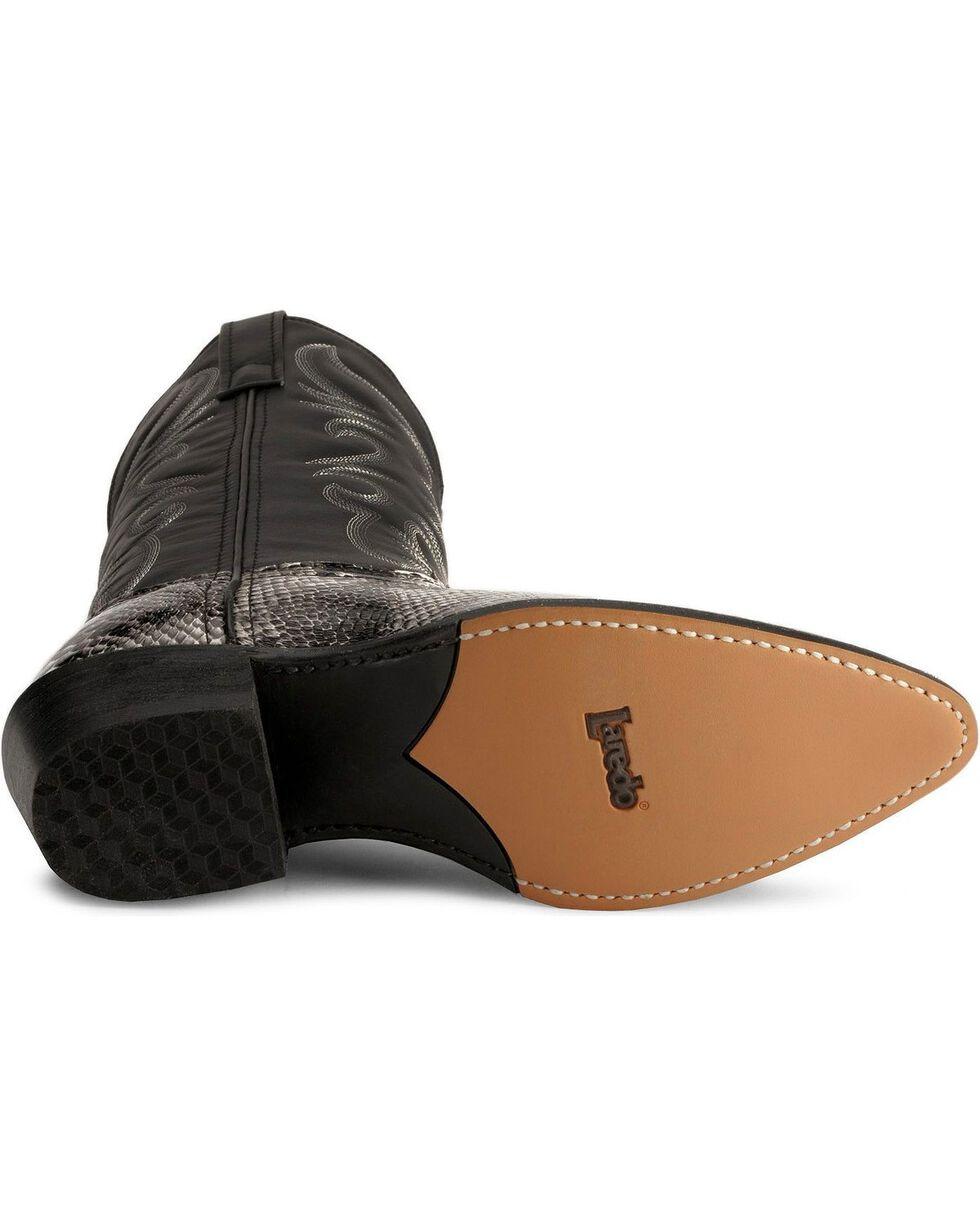 Laredo Men's Monty Snake Print Western Boots, Natural, hi-res