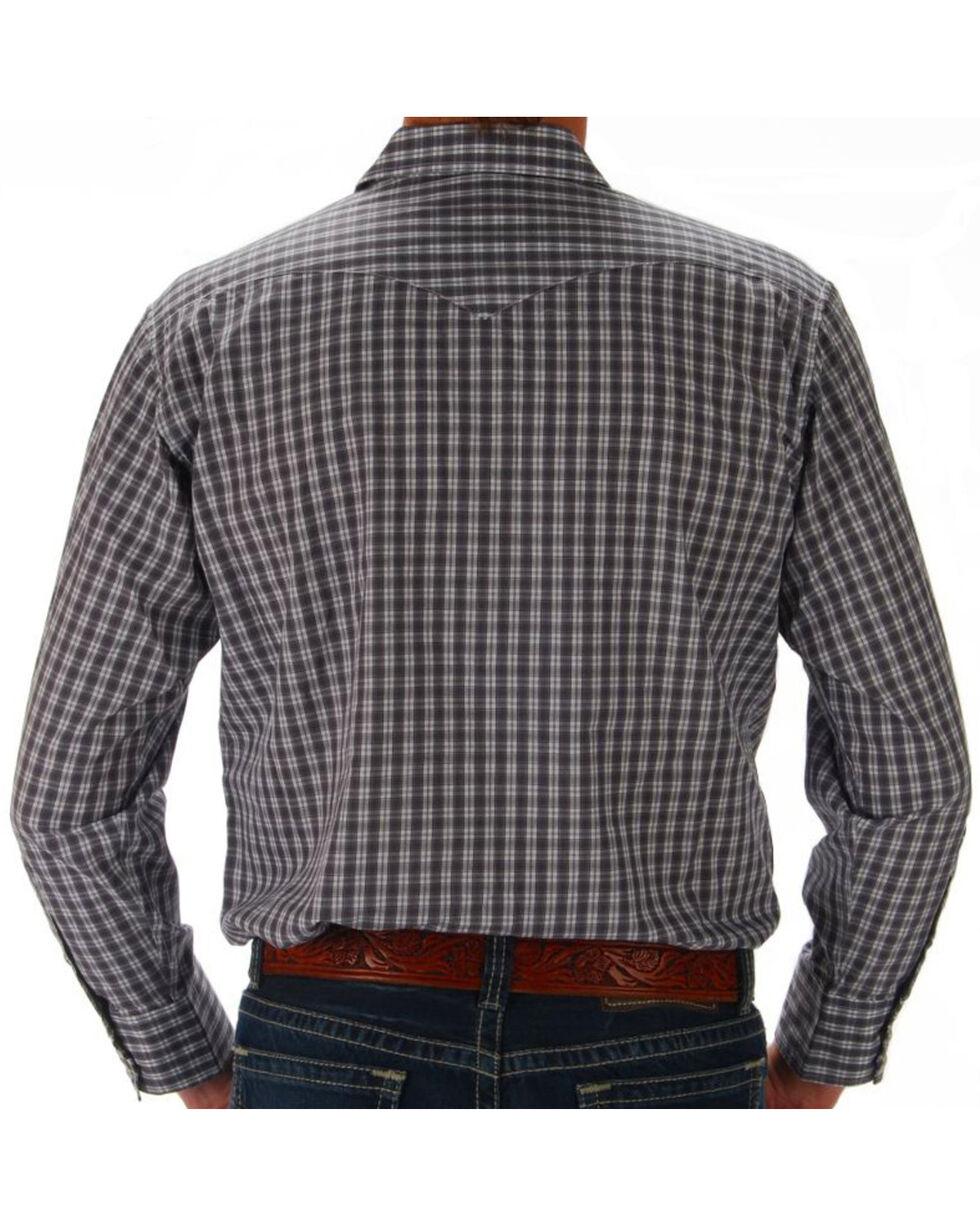 Panhandle Men's Plaid Snap Down Western Shirt - Big, Multi, hi-res