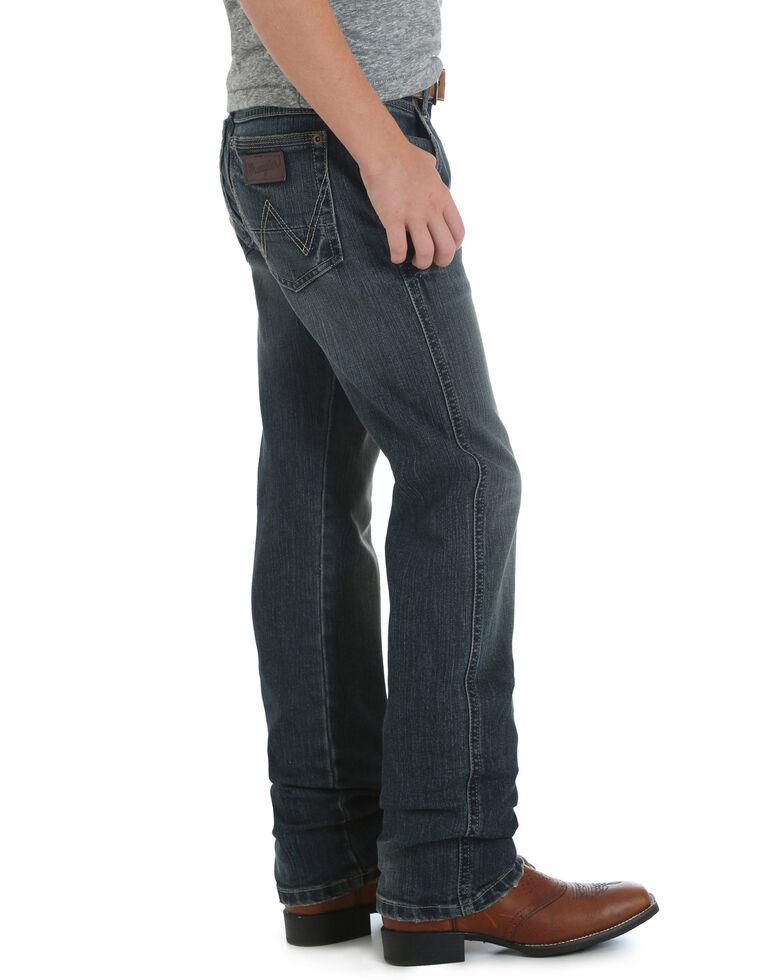 Wrangler Retro Boys' Jerome Slim Straight Jeans , Blue, hi-res