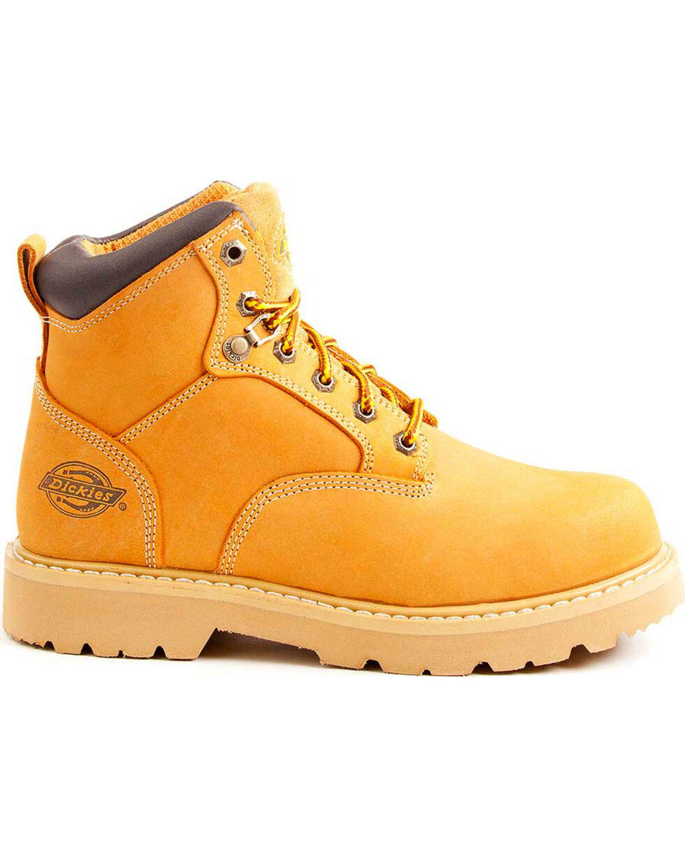 Dickies Men's Wheat Ranger Work Boots - Plain Toe, Wheat, hi-res
