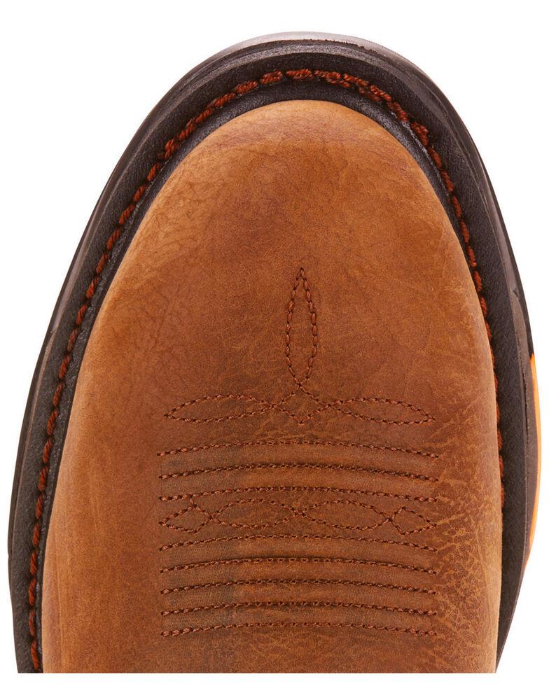 Ariat Men's Tan Workhog XT Pull-On H20 Boots - Round Toe , Tan, hi-res