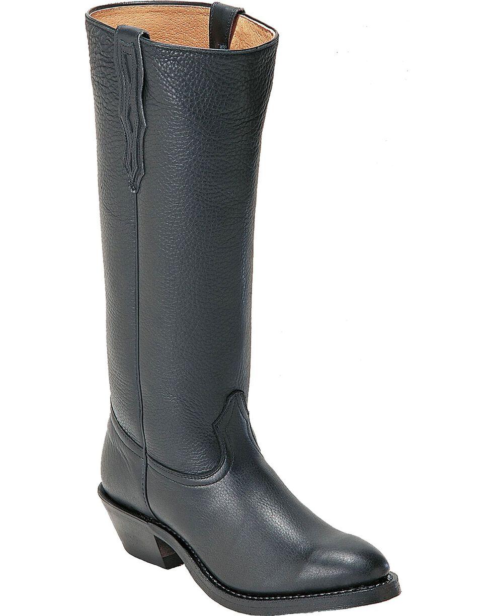 "Boulet Men's Shooter 18"" Western Boots, Black, hi-res"