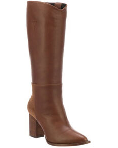 Lucchese Women's Dawn Western Boots - Medium Toe, Bark, hi-res