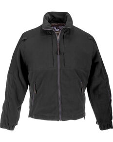 5.11 Tactical Men's Fleece Jacket - 3XL-4XL, Black, hi-res
