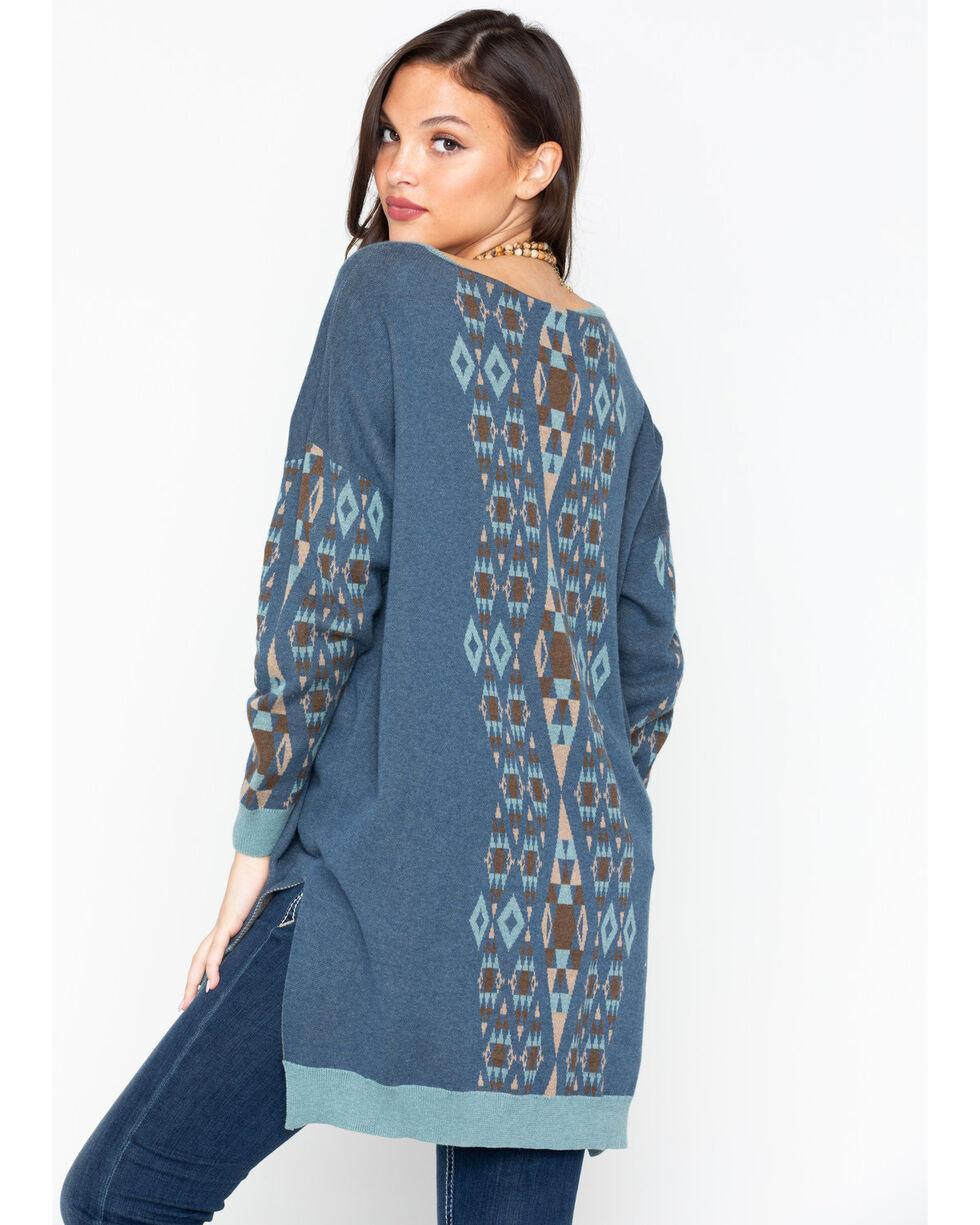 Tasha Polizzi Women's Cassidy Long Sleeve Shirt, Indigo, hi-res