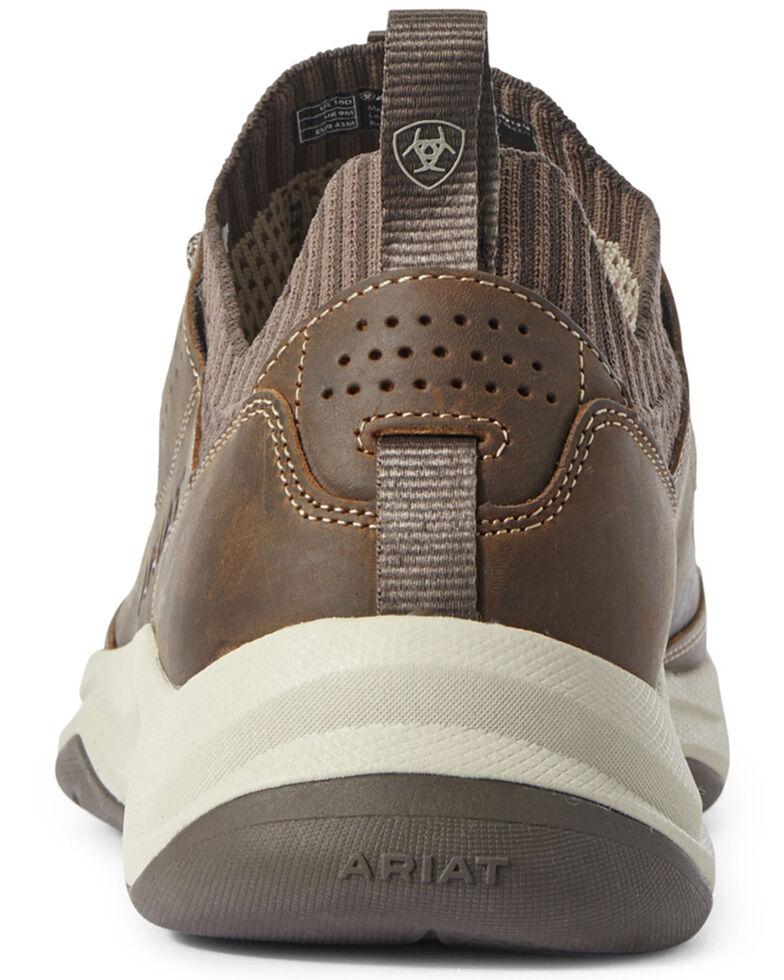 Ariat Men's Brown Country Mile Hiker Boots - Moc Toe, Brown, hi-res