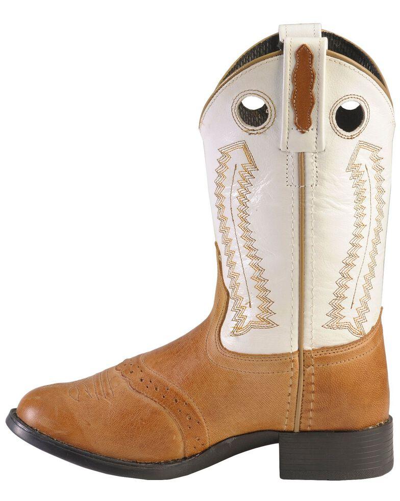 Old West Children's Ultra Flex Western Boots - Round Toe, Tan, hi-res
