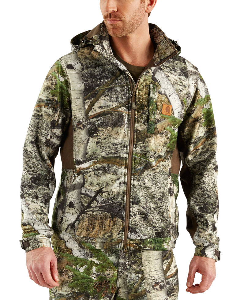 Carhartt Men's Camo Buckfield Jacket - Big & Tall , Multi, hi-res