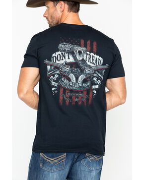 Brothers & Arms Men's Snake Tread T-shirt , Black, hi-res