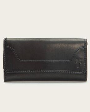 Frye Women's Melissa Zip Wallet, Black, hi-res