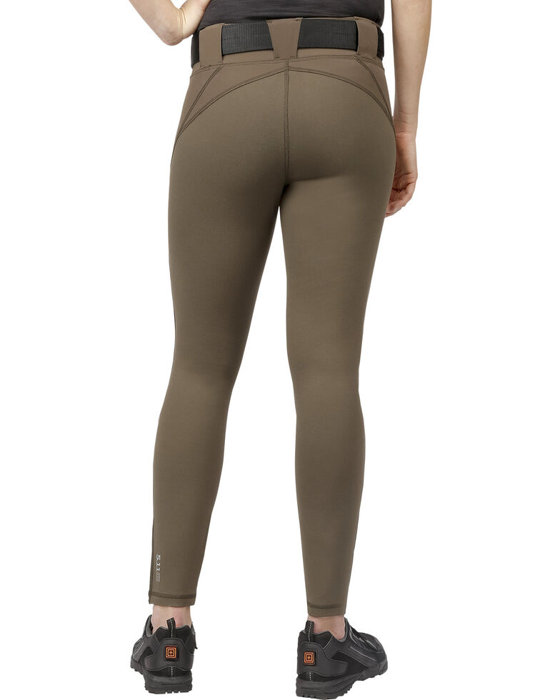5.11 Tactical Women's Raven Range Tights , Charcoal, hi-res