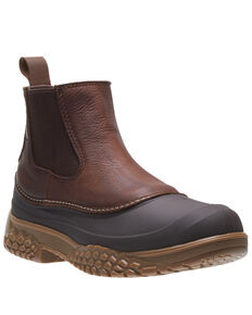 Wolverine Men's Yak Waterproof Work Boots - Steel Toe, Brown, hi-res