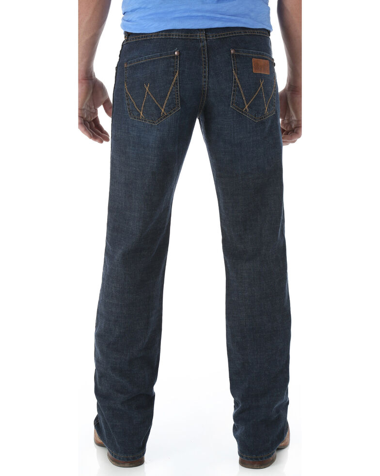 Wrangler Retro Men's Relaxed Fit Boot Cut Jeans, Denim, hi-res