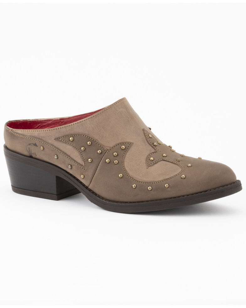 Ferrini Women's Brown Dixie Fashion Booties - Round Toe, Brown, hi-res