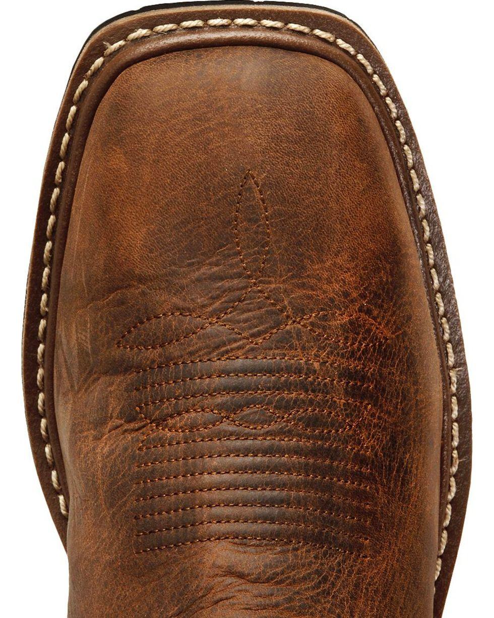 Dan Post Men's Nogales Waterproof Western Work Boots, Tan, hi-res