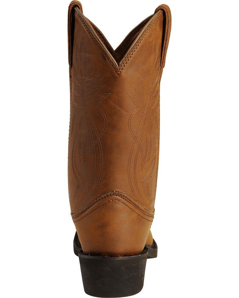 Justin Men's Ranch & Road Western Boots, Distressed, hi-res