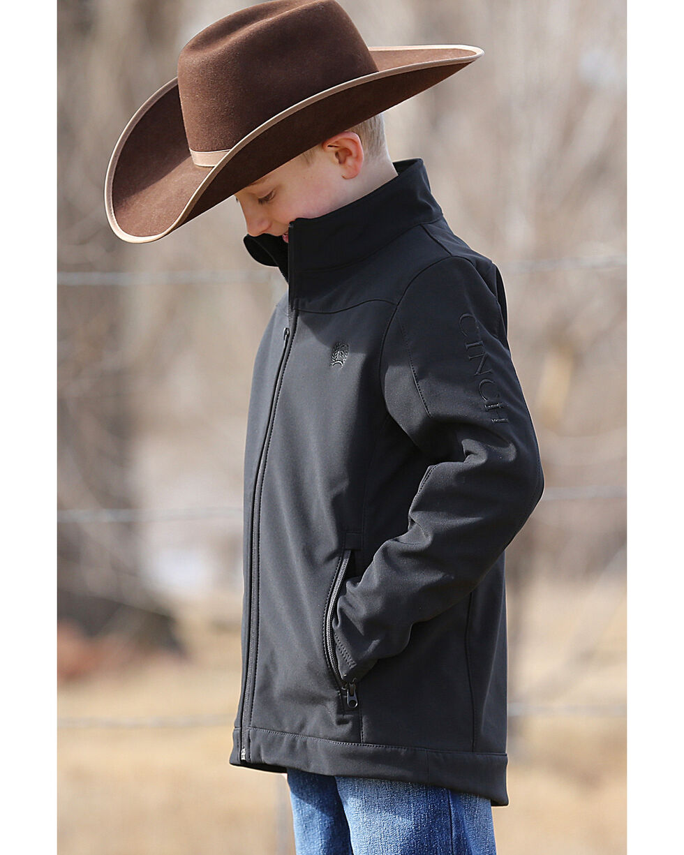 Cinch Boys' Black Bonded Jacket , , hi-res