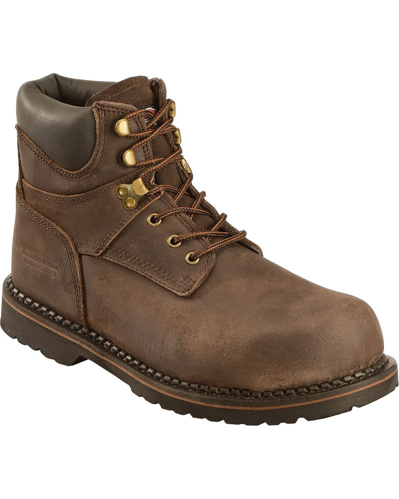 American Worker 174 Men S Steel Toe Work Boots Boot Barn