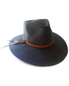 'ale by Alessandra Women's Grey Leumaria Hat , Dark Grey, hi-res