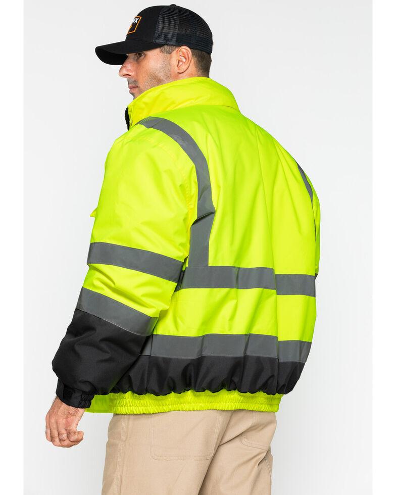 Hawx Men's 3-In-1 Bomber Work Jacket - Big , Yellow, hi-res