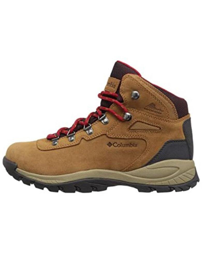 Columbia Women's Brown Newton Ridge Plus Amped Waterproof Hiking Boot , Brown, hi-res