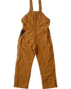 Dickies Sanded Duck Overalls, Brown Duck, hi-res