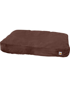 Carhartt Medium Dog Bed, Dark Brown, hi-res