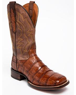 "Dan Post Men's 11"" Cowboy CertifiedWestern Boots, Cognac, hi-res"